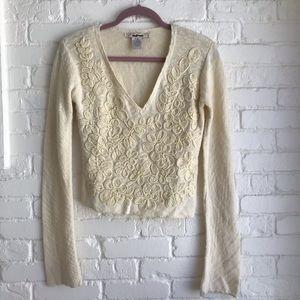 Free people RN 66170 Anthropologie sweater Medium